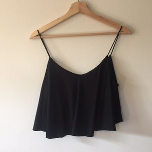 EXPRESS COTTON/MODAL CROP TOP